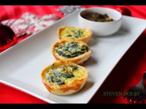 Steve cooks 2 tasty mini quiche recipes CHRISTMAS RECIPE