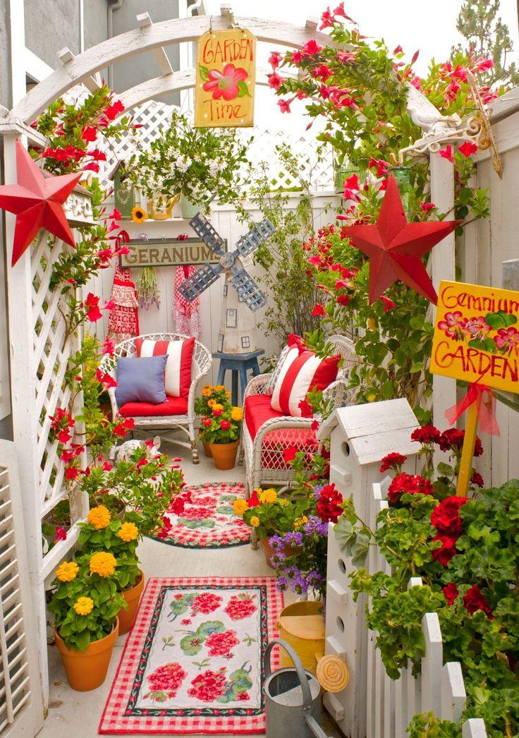 Best 20+ Small Patio Gardens Ideas On Pinterest