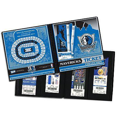 Dallas Mavericks Ticket Album