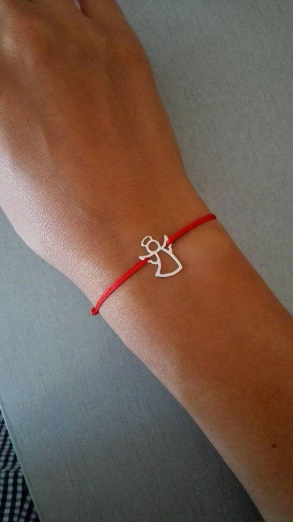 Bracelet ange faire un souhait ange gardien bracelet par Ingriko