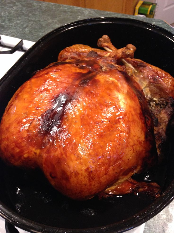 Roasted turducken for our church's Thanksgiving potluck