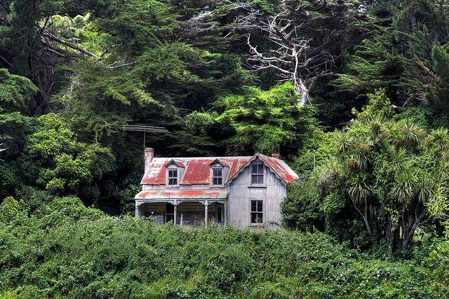Old house, Wellington, New Zealand