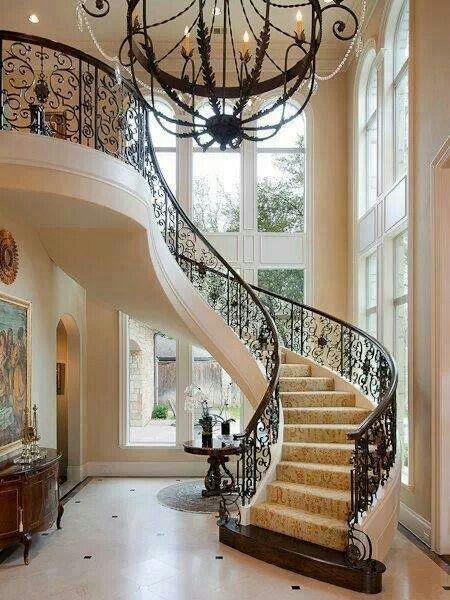 Foyer Staircase Options : Schöner treppenaufgang architektur pinterest