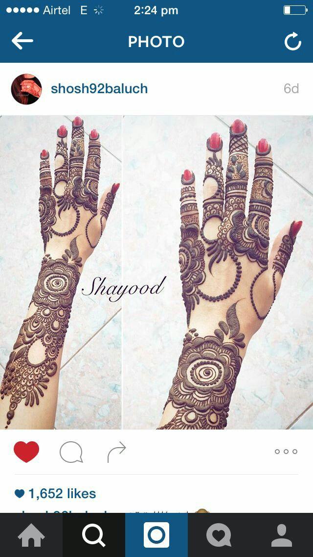 Beautiful Mahandi design