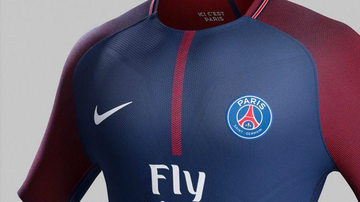 Les photos du maillot PSG domicile 2017-2018   Goalcom