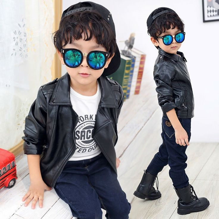 28.65$  Watch here - http://aliihi.shopchina.info/go.php?t=32759203404 - Kids Clothes Baby boy Winter jacket for boys Black fur coat boy PU Leather Jacket Turn-down Collar Baby boys Coats and Jackets   #buyonlinewebsite