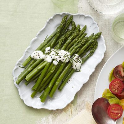 A side of spring's best vegetables will balance out the perfect brunch spread. Get the recipe for Asparagus with Lemon Cream  - GoodHousekeeping.com