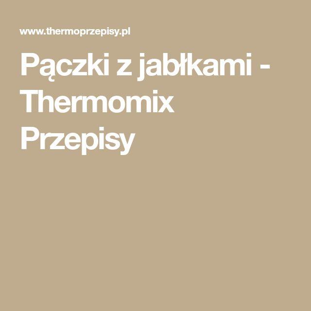 Pączki z jabłkami - Thermomix Przepisy