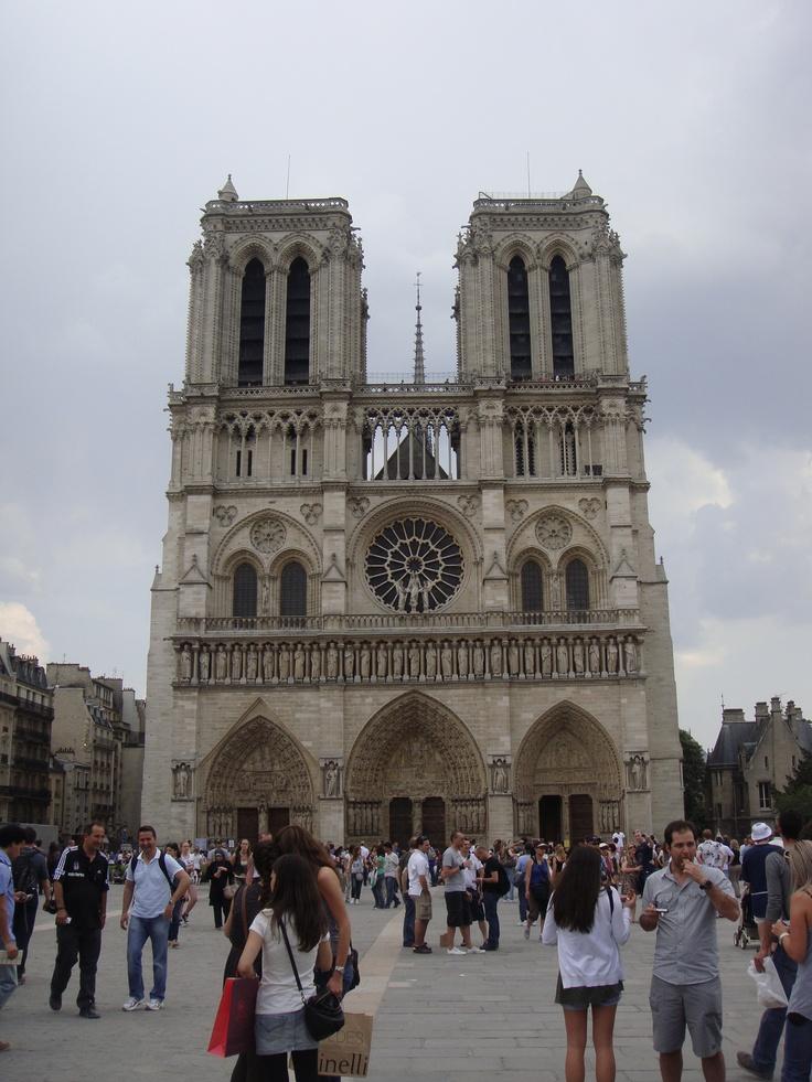 Notre Dame, Paris, France. Original.