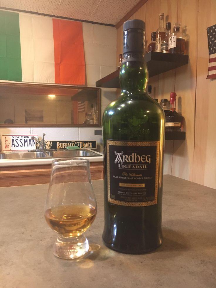 Review #10: Ardbeg Uigeadail #scotch #whisky #whiskey #malt #singlemalt #Scotland #cigars