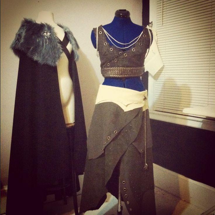 #Khaleesi goes to Burningman  costume by Lorigami #JonSnow cape by Lorigami #gameofthrones