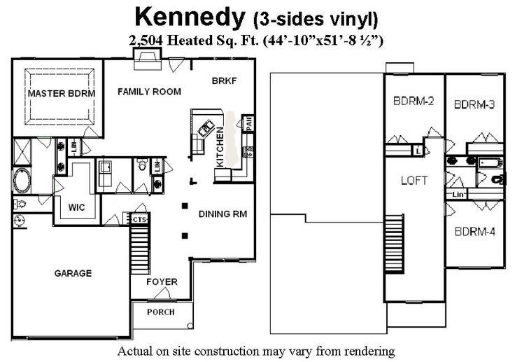 4 Bedroom Open Concept Floor Plans: 1000+ Images About :: Bill Beazley Floor Plans :: On