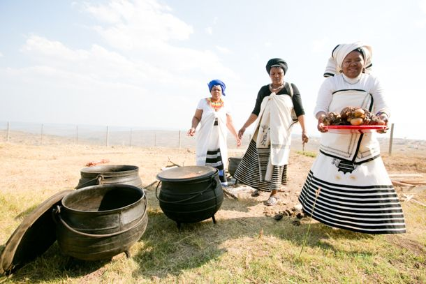Traditional Xhosa Wedding by Monica Dart {Tembakazi & Mateli}