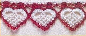 ergahandmade: Crochet Edging + Diagram