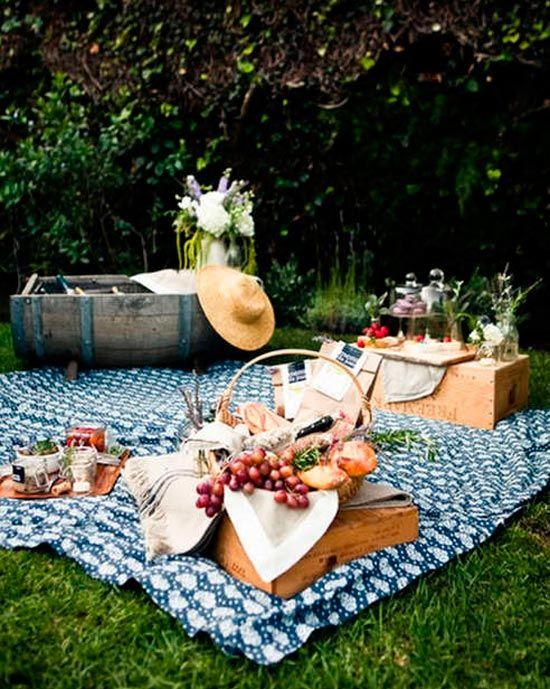 Пикник на второй день свадьбы