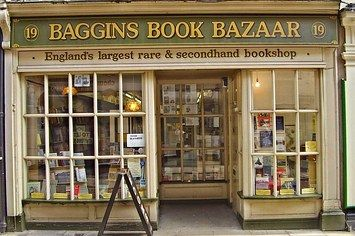 Baggins Book Bazaar, Rochester, United Kingdon | http://writersrelief.com