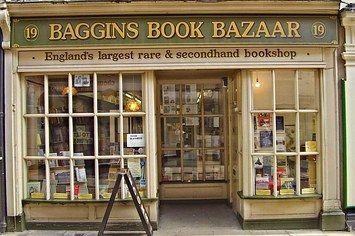 Baggins Book Bazaar, Rochester, United Kingdon | http://writersrelief.com
