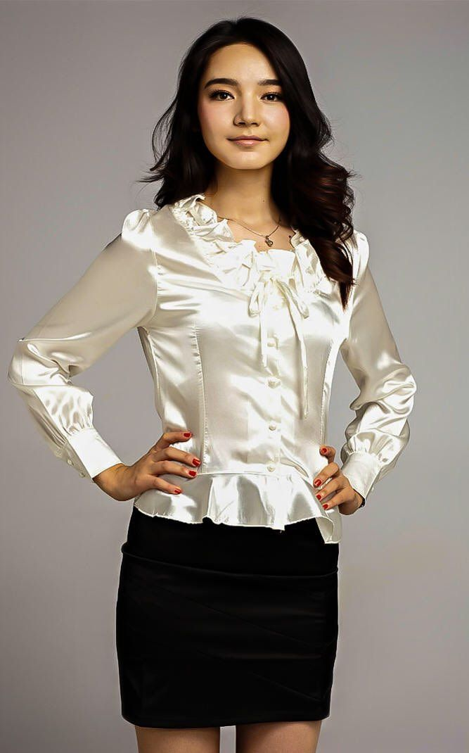 17 Best Images About Satin Blouse On Pinterest Satin