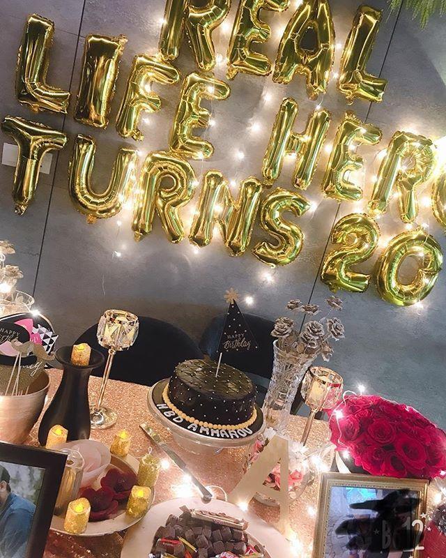 Real Life Hero Turns 20 20birthday Turning20 Surprise Birthday Decorations Event Planning Birthday Birthday Room Decorations