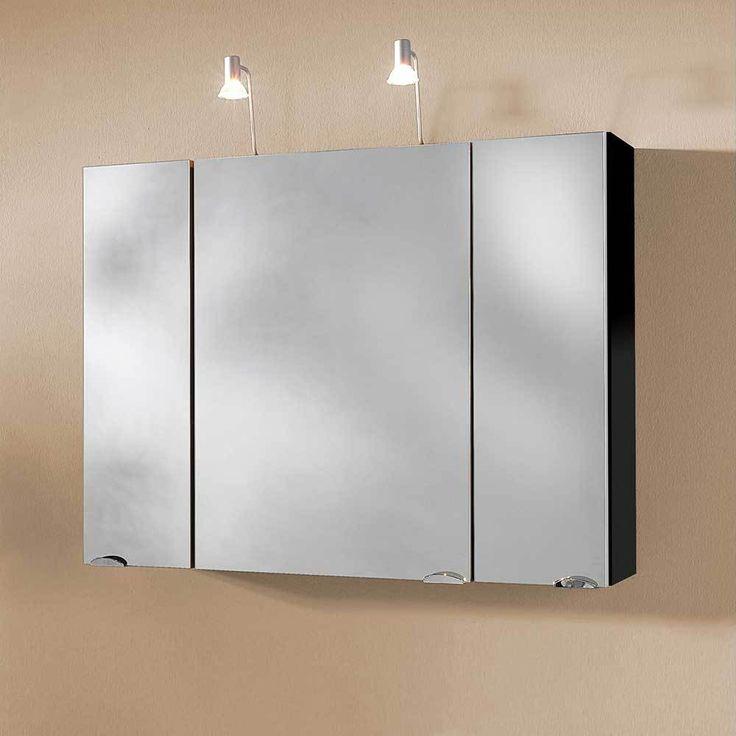 3D Spiegelschrank in Anthrazit Halogenstrahlern Jetzt bestellen unter: https://moebel.ladendirekt.de/bad/badmoebel/spiegelschraenke/?uid=db73bcbd-2887-5351-ae08-ec138cae8fd6&utm_source=pinterest&utm_medium=pin&utm_campaign=boards #badezimmerkommode #bad #beistellschrank #spiegelschrank #spiegelschraenke #badschrank #badmoebel #badspiegelschrank #spiegel #badeschrank #lichtspiegelschrank #badezimmerspiegelschrank #badezimmer