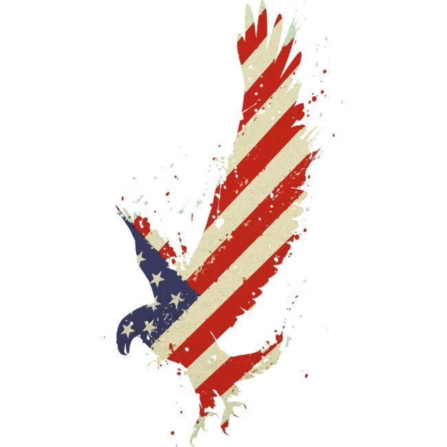 Cool Vintage American Flag Eagle T-Shirt Tee grunge style.  Tshirt Illustration Graphic