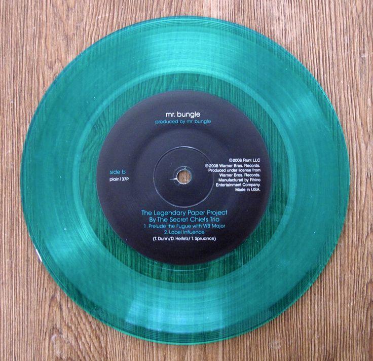 """Mr. Bungle – Disco Volante blue/green vinyl 7"""""""