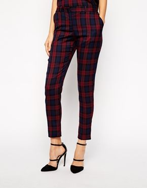 Enlarge Oasis Check Trouser