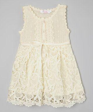 Ivory Venice Lace Dress - Toddler & Girls