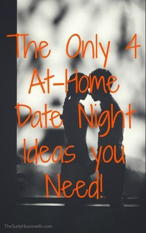 Date night ideas and themes are a dime a dozen but I think you really only need 4 at-home date night ideas. | Date night ideas for married couples | cheap date nights | at home date night | fun at home date night ideas |