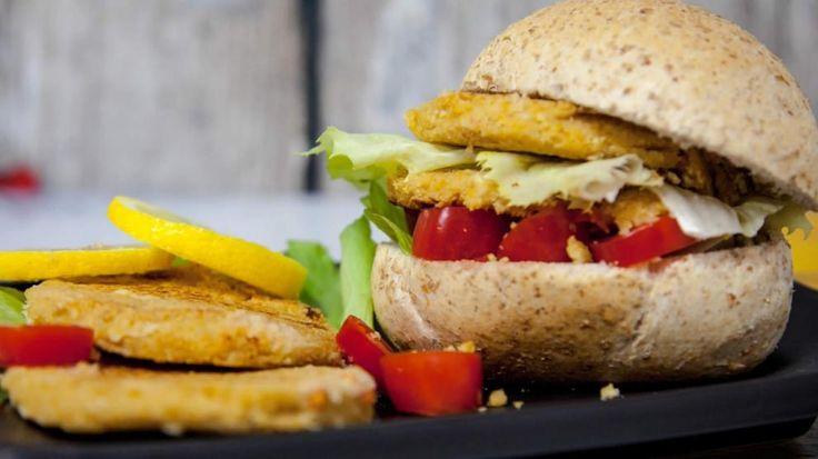 Hamburger di Ceci - Hamburger Vegetariani