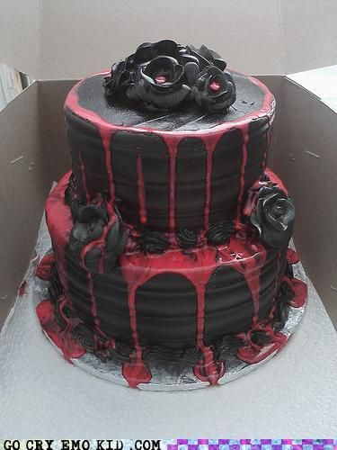 The Cake Matches My Soul…Really Sugary!