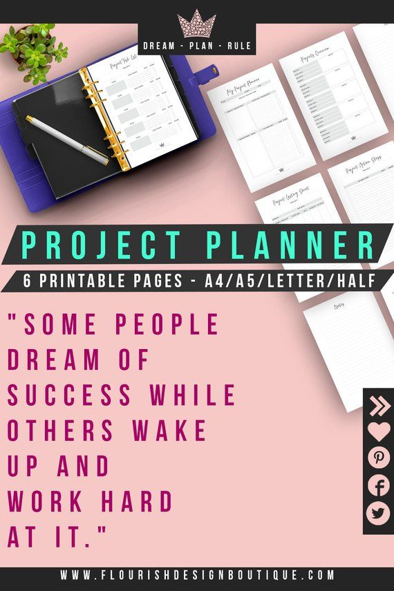 Project Planner To Do List Homework Planner Assignment Planner