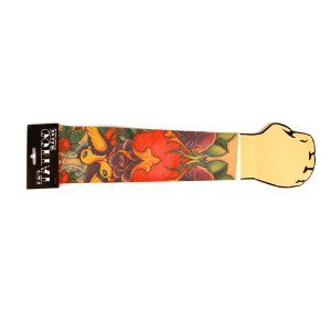Kids TATTOO SLEEVE by WW. $8.49. Instant Tattoos; Slip On This Sleeve For Awesome Skin Art; Be A Bad-Ass. Kids TATTOO SLEEVE This amazing tattoo sleeve is the ultimate  in fake tattoos! The stretchable close fit sleeve slips  over your un-adorned arm to completely cover it in  garish, Hells Angels style tattoos! Very lifelike  and a great way to make yourself look really, really tough.