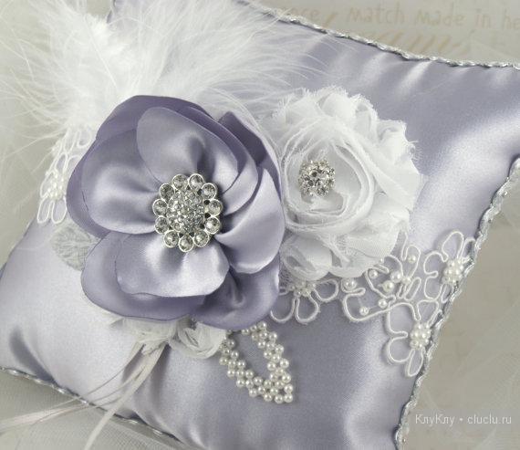 Свадебные подушки своими руками