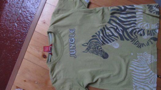 Sada zvířátkových triček Kč 99 + nové pyžo ZDARMA - 1