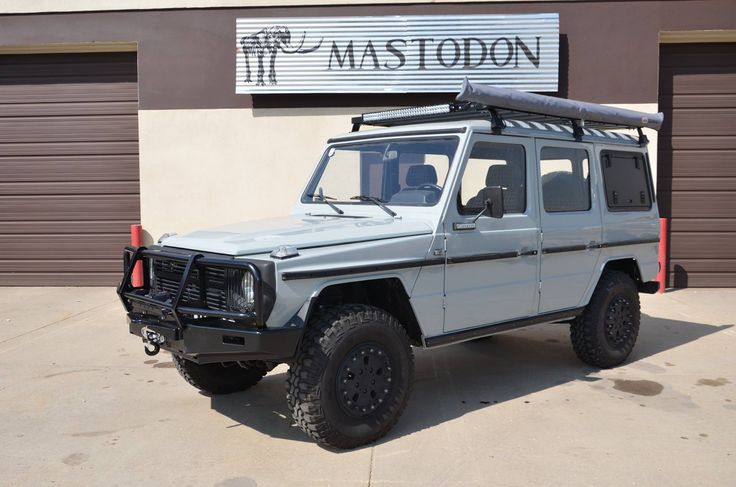 People used to do this with Jeeps after the war and to a lesser degree with the Humvee. But the G-Wagon is so much classier and very desirable. As long as you don't want to just walk into a Mercedes dealership and are willing to wait, your 4x4 could be way cooler than any Hollywood celebrity's.