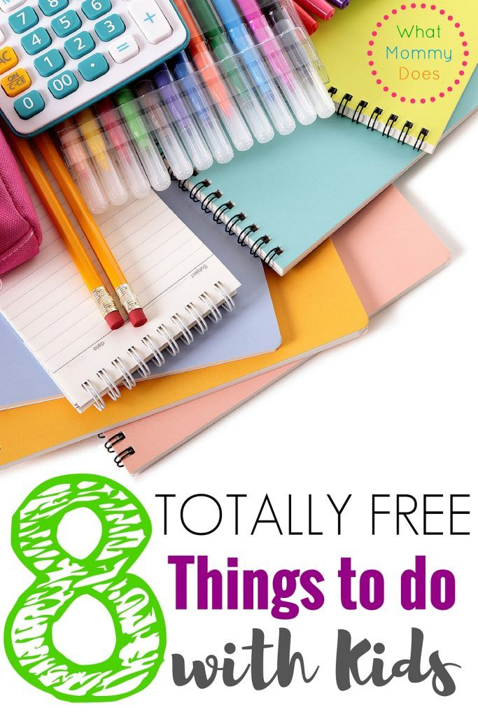8  No Cost Things to Do with Your Kids - fun things don't have to cost money! I love FREE!!!!