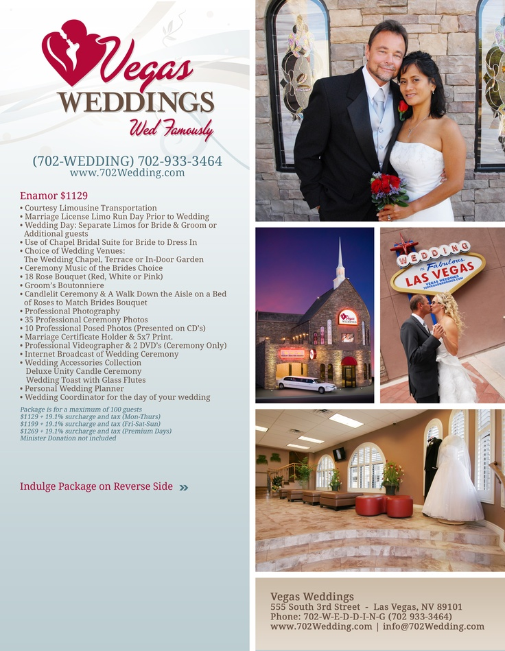 33 best outdoor weddings vegas weddings images on pinterest the vegas weddings enamor package is great value for weddings with 80 or more guests junglespirit Gallery