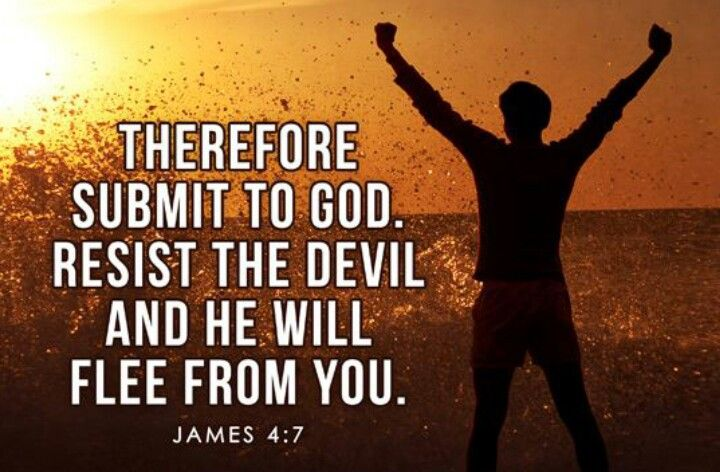 Submit to God  ...
