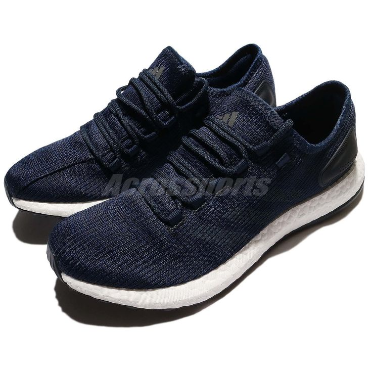adidas PureBOOST Clima China Blue Primeknit Men Running Shoes Sneakers S77191