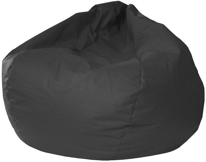 Gold Medal Extra Large Faux-Leather Bean Bag Chair