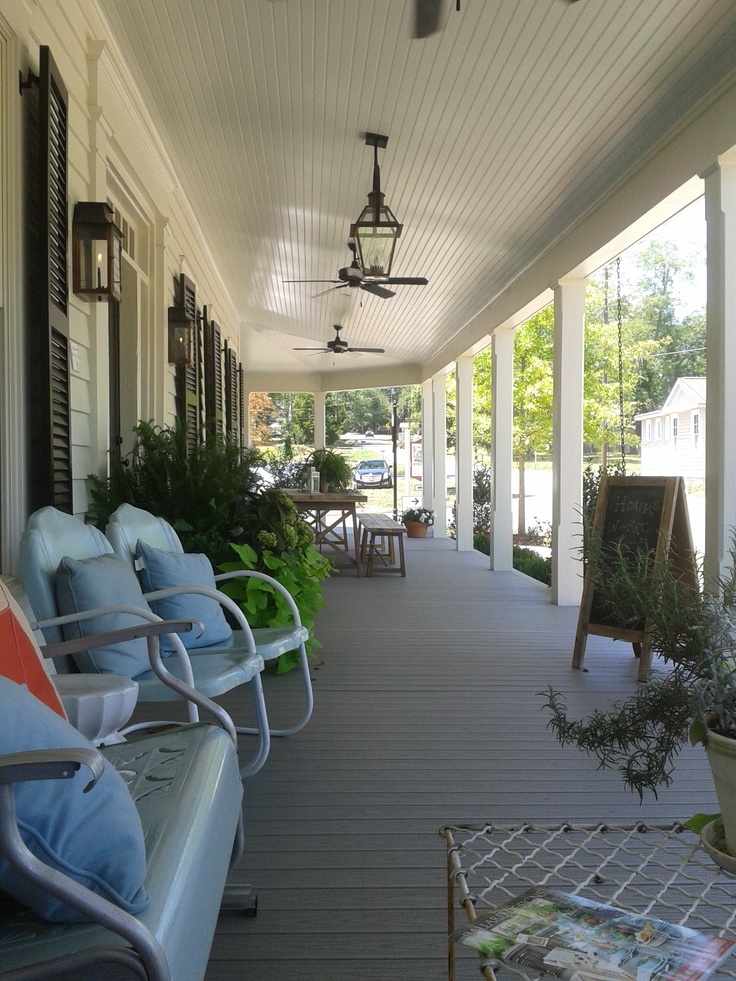 Southern Living Idea House 2012: 17 Best Images About Porch Project On Pinterest