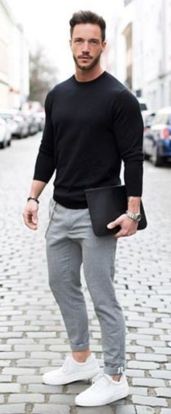 White Sneakers | Sneakers outfit men