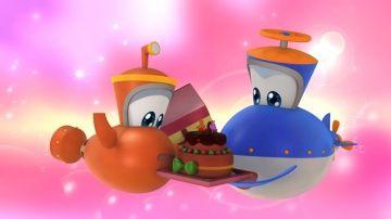 Мультфильмы - Марин и его друзья - Подводные истории -  Торт! Торт! http://video-kid.com/10531-multfilmy-marin-i-ego-druzja-podvodnye-istorii-tort-tort.html  Марин собирается по поручению своего папы на почту, когда мама угощает его кусочком торта, полученным от знаменитого кондитера. Марин спешит и опасается, что папа может найти его торт и съест его. Он решает получше спрятать свой кусочек прежде, чем уйти. Предвкушая свое припрятанное лакомство, Марин неожиданно встречает бабушку Виви…