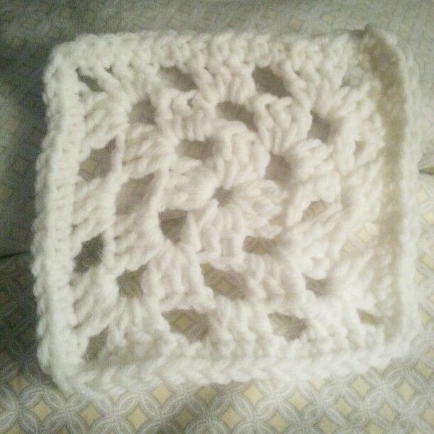 First try at a traditional Granny Square!