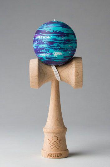 Seafoam-Purple Matte Marble - Sweets