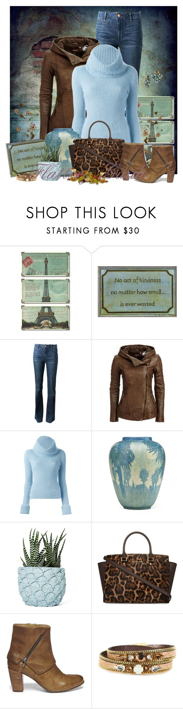 """""""Bette"""" by flattery-guide ❤ liked on Polyvore featuring Uttermost, Stupell, Marc by Marc Jacobs, Danier, Ermanno Scervino, Chen Chen & Kai Williams, MICHAEL Michael Kors, Steve Madden, Bibi Bijoux and Betsey Johnson"""