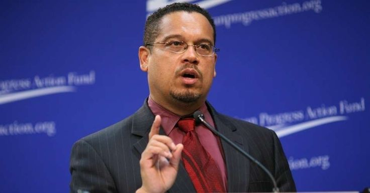 """""""As leaders of the Democratic Party, it is our responsibility to acknowledge that millions of Americans still feel hurt and betrayed by the events of the 2016 presidential primary,"""" Ellison said. (Photo: Center for American Progress/Flickr/cc)"""