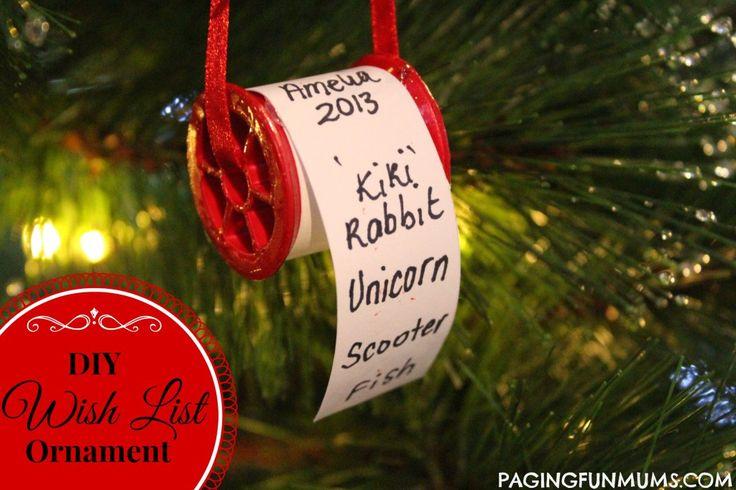 Wish List Ornament 4
