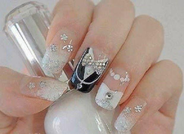 diseños de uñas para novias 2015   Cristina